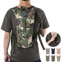 Wholesale Tactical Backpacks For Men - Tactical Backpack with 3L Hydration Water Bag Pouch for Hiking Climbing Sport Travel shoulder Bag with Opp Bag