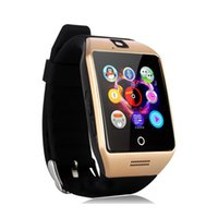 Wholesale Iphone Mate - Q18 q18s Bluetooth phone mate Smart Watch whatsapp smarwatch for Iphone and Android Smartphones bracelet wristwatch