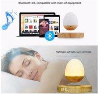 Wholesale Music Baby Speaker - Music Sleep To Baby Music To Sleep Magnetic Levitation Light Music Box Bedlamp Levitation Floating LED Light Bluetooth Speaker Night Lamp