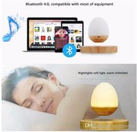 Musique Sleep To Baby Music pour dormir Levitation magnétique Light Music Box Bedlamp Levitation Floating LED Light Bluetooth Speaker Night Lamp