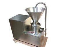 Wholesale Peanut Machines - 750W 220V colloid mill peanut butter colloid mill grinding machine