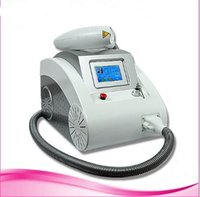 Wholesale Skin Tightening Machines - 3 in 1 portable Q switched yag laser tattoo removal skin rejuvenation pigment removal spa salon home use machine