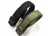 Wholesale fashion belt army tactical belt with cobra buckle