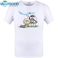 Wholesale Back Future Shirt - Back To Peanuts Future Design Mens T Shirt Summer Short Sleeve Hipster Cool Brand Clothing Funny Top Tee Print Plus Size 6XL
