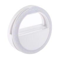 beste samsung kamera großhandel-Universal LED Fotografie Blitzlicht Selfie Luminous Lampe Nacht Telefon Ring für iPhone 5 6 6S Plus 7 LG Samsung HTC LG