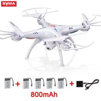 Wholesale Helicopter Real Time Image - Real Time Image Transmission SYMA X5SW RC Quadcopter with Camera HD CF Mode Wifi FPV Remote Control Helicopter Drone Vs H107D