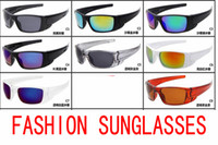 Wholesale free shipping cycling glasses resale online - brand new sunglasses womendriving galss goggles cycling sports dazzling eyeglasses men reflective coating sun glass A