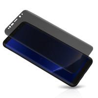 protetores de tela de vidro para celulares venda por atacado-Privacidade filme protetor de tela de vidro temperado para samsung galaxy s8 mais s7 edge tampa da frente do telefone celular para s9 plus note8 9 a10 a20 a30 a50