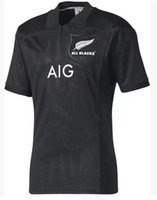 Hot ventes Nouvelle-Zélande All Blacks 2017 Rugby Shirt Top Thaïlande qualité Super Rugby jerseys All Blacks home and away Shirts