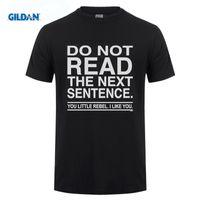 Wholesale Rebel T - Blittzen Mens T-shirt Do Not Read The Next Sentence You Rebel