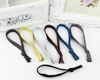 Wholesale Glitter Headbands For Women - Highly Elastic Hair Tie Hair band for girl woman printed glitter Hairband girls ponytail holder kid Hair Accessories wholesale free shipping