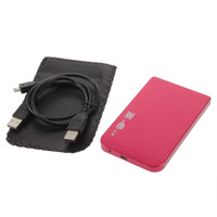 "Wholesale Laptop Enclosure - Wholesale- 480Mbps Enclosure Case Box USB 2.0 for Laptop 2.5"" SATA Hard Drive"