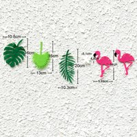 Wholesale Leaf Ornaments Wholesale - Room Decoration Props Flamingo Leaf Pineapple High Quality Multi Function Family Birthday Party Ornament Camera Hot Sell 7xl J R