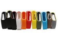 xiaomi renkleri toptan satış-Xiaomi Mi band Için 2 band2 kaliteli Yedek Kayış Akıllı bant Bilezik Çift Renk Bilek Kayışı Çok renkler
