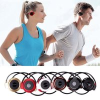 MINI503 Ohr Haken Mini Sport Wireless Bluetooth Headset HiFi Handsfree Stereo Ohrhörer Kopfhörer TF Karte Für MP3 Player