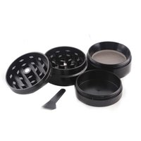 Wholesale Big Nets - Herb Grinder Sharpstone Grinders Metal Alloy Herb Grinders Tobacco Sharp stone Grinders 4Layers Big Grinder net dry herb vaporizer pen