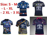 Wholesale Captain Shorts - 2017-2018 NORTH QUEENSLAND COWBOYS 2017 HOME JERSEY Captain America Marvel Ltd Edition Rugby Shirt 2017 18 Cowboys rugby shirts size S-3XL