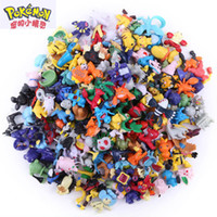 Wholesale Pikachu Mix - 4-5CM Games Figures Toys Mix Style New Cute Monster Mini Figures Toys Brinquedos Action Figure Pikachu Toys