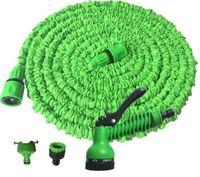 Wholesale Nozzle Head - 100FT Expandable Flexible Garden Water Hose With Spray Nozzle Head 2 Colors G014