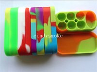 Wholesale Pens Holders - NEW Wax Containers silicone box Silicon container Non-stick food grade wax jars dab storage jar oil holder for vaporizer pen vape