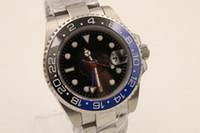 Wholesale Dress Sellers - store of top seller jason007 luxury brand watches men 116710BLNR half blue & black ceramic bezel watch automatic watch mens dress watches