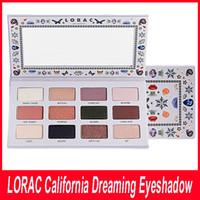 Wholesale Beauty Dreams - Makeup NEW LORAC California Dreaming Eye Shadow Palette Health & Beauty 12 color LOS ANGELES Eyeshadow 9.72g