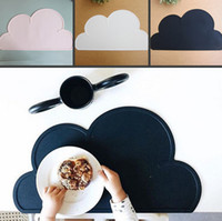 Wholesale Kitchen Hot Pads - Fashion 1Pcs Silicone Cloud Shape Insulation Kitchen Placemat Cute Kids Placemat Pad Dining Table Mat Coaster Hot Sell 7 tt J