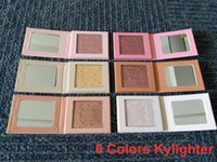 Wholesale Good Shipping - Hot Kylie Jenner Kylighter glow kit & 6 colors highlighters Kylie cosmetics,in stock,good quality, shipping within 24 hours free shipping