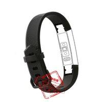 pulseras de nuevo tipo al por mayor-10 colores NUEVO reloj CLASP TYPE Fitbit alta HR Band con corchete Replacement TPU Correa para muñeca Wireless Wristband Pulsera con cierre de metal