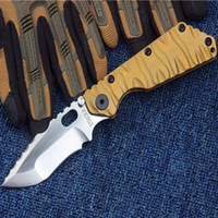 Wholesale Dragon Handle - STRIDER black dragon D2 blade TC4 titanium alloy Handle Folding Pocket Knife Tactical Survival Knife 1pcs freeshipping