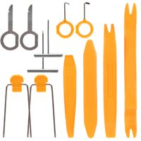 Wholesale Car Radio Removal Tool Kit - New 12pcs Auto Car Radio Stereo Dash Removal Install Pry Tools Set for Different Vehicles CDE_911