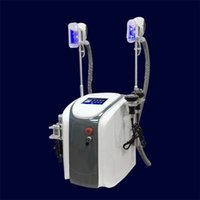 Wholesale Cryo Laser - 2017 Portable Fat Freezing Slimming Machine Cryo Cryotherapy Ultrasound Cavitation RF liposuction lipo laser Fat Burning Machine