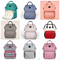 Wholesale Wholesale Handbag Designer Brands - Mommy Backpacks Nappies Diaper Bags Fashion Mother Backpack Brand Maternity Backpacks Designer Outdoor Handbags Travel Bags Organizer B3410