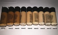 Wholesale mineral cream makeup - Wholesale-Make up Foundation 18 colors Mineral moisturizing liquid foundation New Concealer makeup Spf 15 Free Shipping