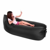 Wholesale Docooler Outdoor Portable Convenient Inflatable Lounger Air Sleeping Bag Polyester Air Sleep Sofa