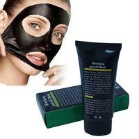 shills máscara de limpieza profunda al por mayor-SHILLS Deep Cleansing Black Mask 50ml Blackhead Remover Purifying Peel Off Máscara facial negra del fango del acné