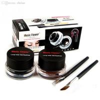 ingrosso la migliore vendita compone-Trucco Best-Seller 2 in 1 Brown + Black Eyeliner 24 ore Long make up accessori