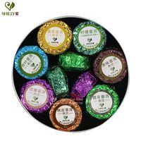 Wholesale Mini Sticky - 100g Shu Pu er Mini Tuo Cha 7 mix Puerh Lotus tea Chinese Ripe Puer tea Brand Sticky Rice Orange Pu er Slimming Pu Erh