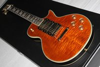 Wholesale Solid Body Guitar Making - orange electric guitar Direct Manufacturer sell good guitar you can custom-made