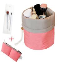 Wholesale Waterproof Barrel Storage - Makeup bag - Waterproof Travel Kit Organizer Bathroom Storage Cosmetic Bag Carry Case Toiletry Bag
