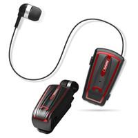 clips de auriculares bluetooth al por mayor-Remax Wireless Bluetooth Auricular Clip Clip con micrófono con micrófono Manos libres Auricular para iPhone 8 para teléfono móvil