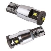 Wholesale Interior Dash Lights - Cree Chip 15W T10 LED Bulb W5W White CANBUS OBC Error Free interior Lights Car Lamp 501 dash Car Light Source parking 12V