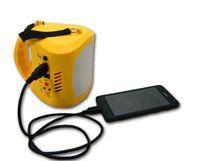 Wholesale Solar Power Flashlight Radio - Portable Solar Kits Radio Solar Power Generator Hand Lamp for Camping 9 LED Flashlight Outdoor Hand Home Light Lamp Lighting