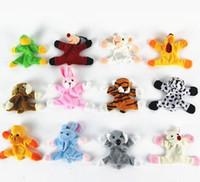 Wholesale Cute Magnets - New Arrival Cute Animal Refrigerator Magnet Stickers Plush Magnet Fridge Cartoon Sticker Free Shipping 25pcs lot