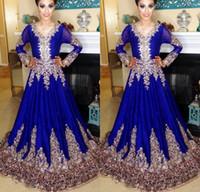 arabic kaftan toptan satış-Dubai Kaftan Abaya Müslüman Elbise İslam Abaya Dantel Nakış Uzun Kollu Arapça Balo Abiye Fas Kaftan