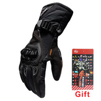 Wholesale Waterproof Touch Screen Gloves - New Racing Motorcycle Gloves GP PRO Touch Screen Winter Warm Waterproof Protective Knight Motorbike Gloves Motocross Guantes Moto Luvas XXL