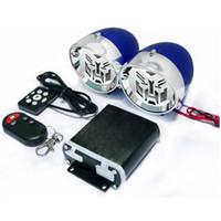 Wholesale Car Style Bluetooth Speaker - 2.5 inch Motorcycle Bluetooth Stereo Speaker King Kong Style Amplifier Anti-theft Alarm Device Car Hi-Fi Sound MP3 FM Radio USB Phone Charge