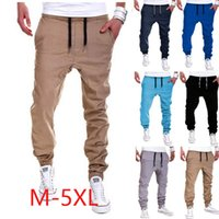 Wholesale Organic Fitness - New High Quality Men's sport joggers hip hop jogging fitness pant casual pant trousers sweatpants M-XXL