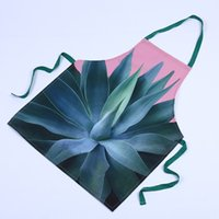 Wholesale 5 Colors Fashion Unisex Women Man Aprons Kitchen Restaurant Cooking Bib Aprons
