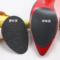 anti-rutsch-high heels großhandel-100% neue Anti-Slip Selbstklebende Schuhe Mat High Heel Sole Protector Gummi Pads Kissen Rutschfeste Einlage Vorfuß High Heels Aufkleber